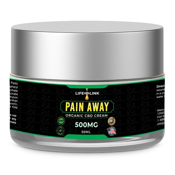 CBD Pain Away Organic Cream